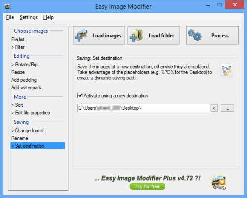 Easy Image Modifier: Xử lý ảnh đồng loạt - 4