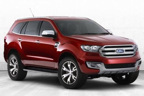 "Ford Everest mới dựa ""hơi"" Ranger? - 1"