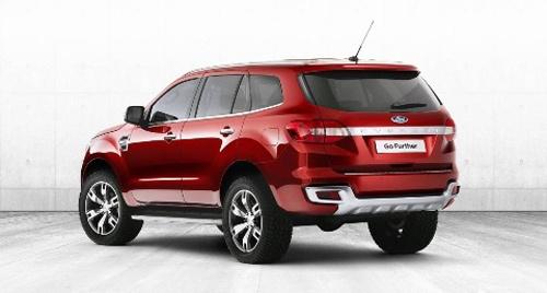 "Ford Everest mới dựa ""hơi"" Ranger? - 2"