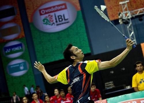 Đấu thể thức lạ, Tiến Minh thua trận ra quân giải Ấn Độ - 1