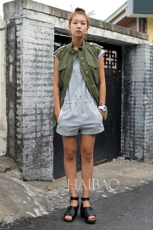 Chân dài quyến rũ trên đường phố Hàn - 19