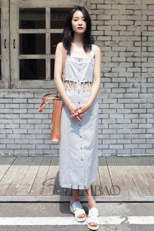 Chân dài quyến rũ trên đường phố Hàn - 8