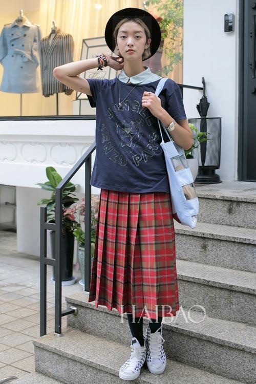 Chân dài quyến rũ trên đường phố Hàn - 5
