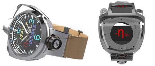 """Crossbow, smartwatch có máy ảnh 41 """"chấm"""" - 1"""