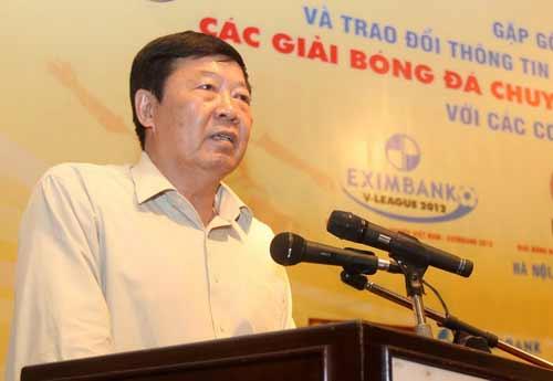 SỐC: Ban tư vấn đạo đức kiến nghị thay Trưởng giải V.League - 1