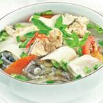 Ẩm thực - Canh chua nấu cá hồi