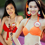 Thời trang - Chấm điểm hoa hậu Việt mặc bikini