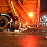 Tin tức trong ngày - Tông vào xe chở rác, 2 người chết tại chỗ