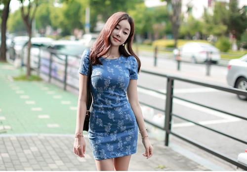 Thiếu nữ Hàn gây sốt cộng đồng mạng - 4