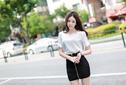 Thiếu nữ Hàn gây sốt cộng đồng mạng - 9