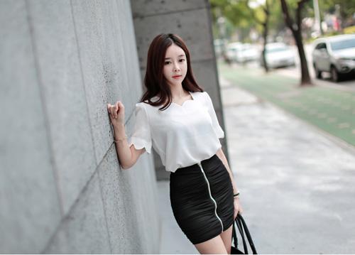 Thiếu nữ Hàn gây sốt cộng đồng mạng - 10