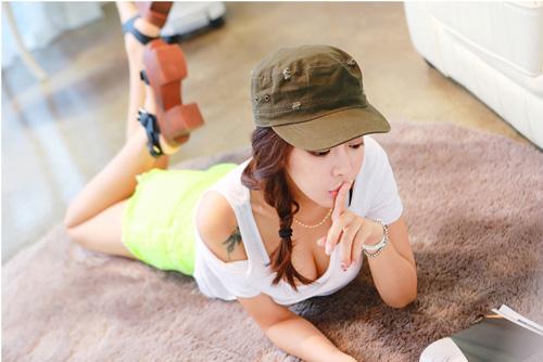 Thiếu nữ Hàn gây sốt cộng đồng mạng - 15