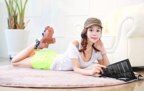 Thiếu nữ Hàn gây sốt cộng đồng mạng - 16