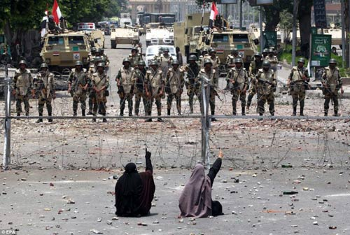 Ai Cập: Sẽ dùng đạn thật đối phó biểu tình - 3