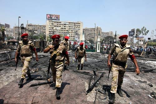 Ai Cập: Sẽ dùng đạn thật đối phó biểu tình - 2