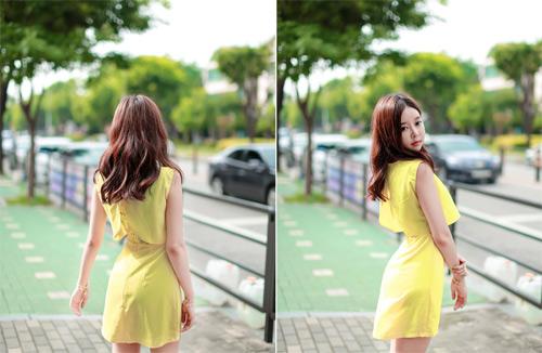 Thiếu nữ Hàn gây sốt cộng đồng mạng - 6