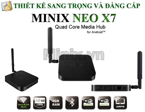 """Minix Neo X7, Tvbox lõi tứ đầu tiên """"lộ hàng"""" - 2"""
