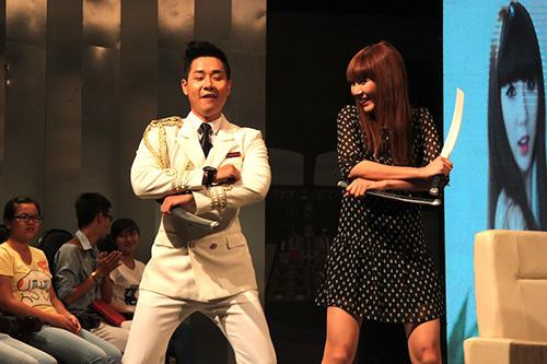 Ngọc Quyên gợi cảm nhảy Gentleman - 2