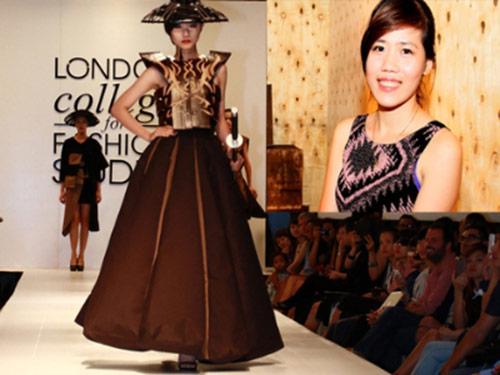 Nữ thiết kế 9X may áo bằng gỗ - 1