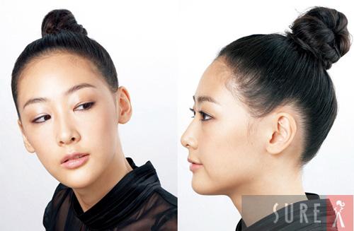 Búi tóc ngọt ngào kiểu Hàn Quốc - 1