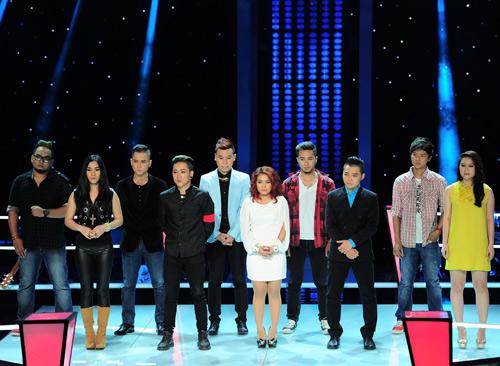 Lộ diện hình ảnh vòng Đo ván The Voice, Ca nhạc - MTV, the voice, the voice 2013, giong hat Viet, vong do van, do van, doi dau, thi sinh, HLV, Mr Dam, Hong Nhung, My Linh, Quoc Trung, tin tuc