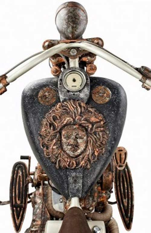 Siêu mô tô khung vàng đắt nhất thế giới - 6