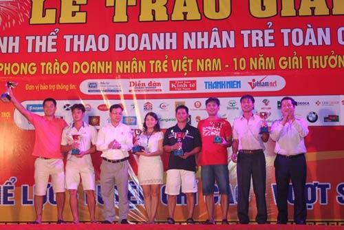Giải thể thao doanh nhân trẻ toàn quốc 2013: Gần 500 VĐV tham dự - 1