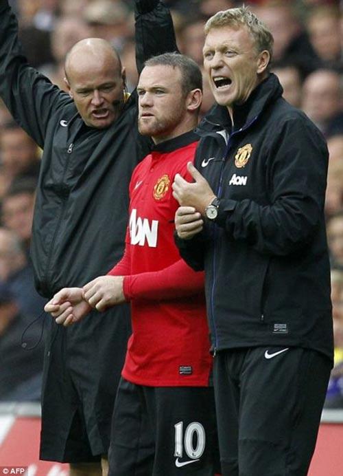 Rooney giúp Persie và Welbeck ghi bàn - 5