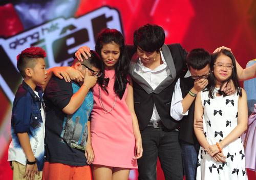The Voice Kids ngập nước mắt đêm chia tay - 13