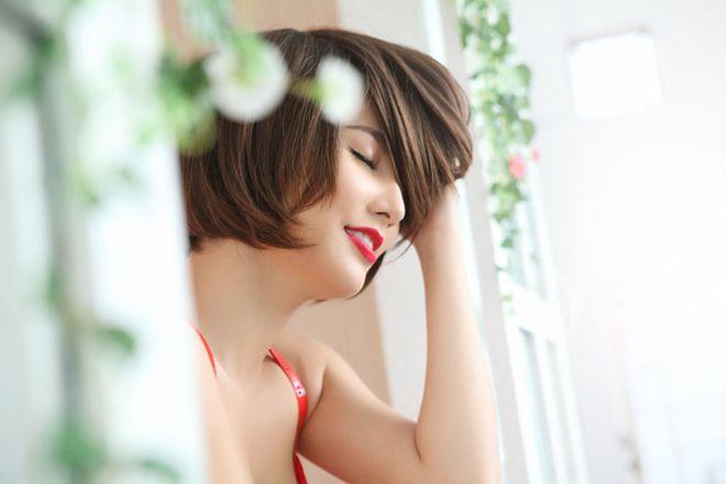 Diễm My 9X khoe tóc tém quyến rũ - 7