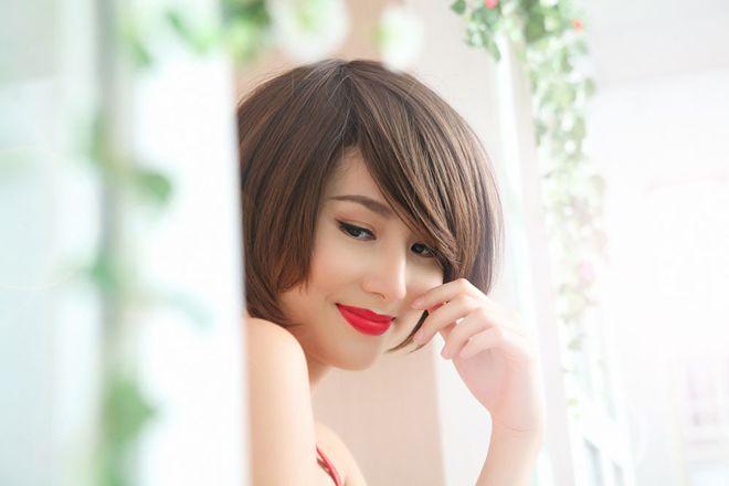 Diễm My 9X khoe tóc tém quyến rũ - 8