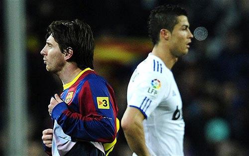 """Messi phủ nhận """"chiến tranh"""" với CR7 - 1"""