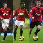 Bóng đá - MU: Tam tấu Persie – Welbeck – Rooney