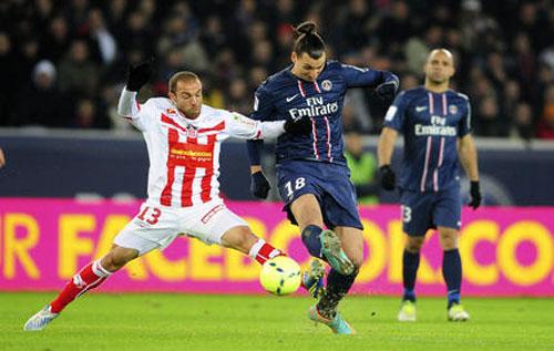 PSG - Ajaccio: Chấn động tập 2 - 1