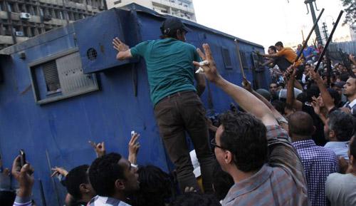 Ai Cập: 36 tù nhân vượt ngục chết ngạt - 1
