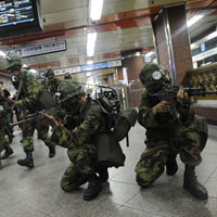 Hàn Quốc sẵn sàng chiến tranh với Triều Tiên