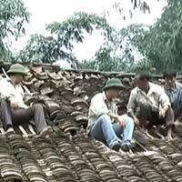 Mưa đá và lũ ống gây thiệt hại tại Lào Cai và Cao Bằng