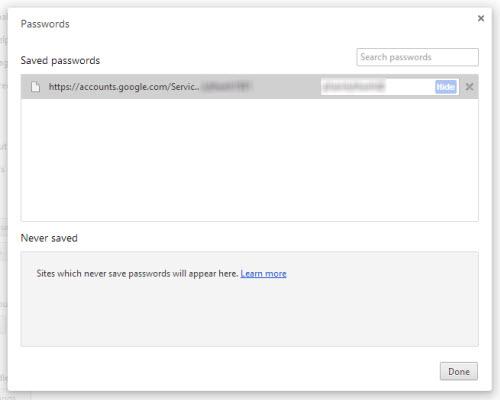 Xem lại password đã lưu trên Firefox, Chrome - 3
