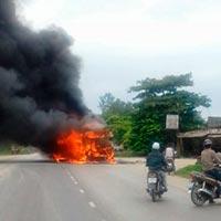 Vụ cháy xe khách: Bộ Công an vào cuộc