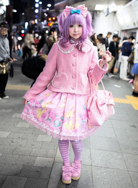 """""""Búp bê """" Nhật lang thang trên phố đông - 14"""