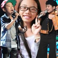 """""""Cân"""" 3 bé được chuộng nhất The Voice Kids"""