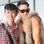 Thời trang - Giám khảo Adam mặc áo lông đến Hà Nội