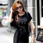 Thời trang - Váy đen chưa bao giờ thôi cuốn hút