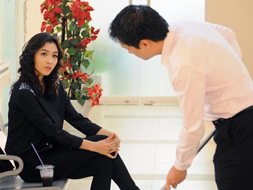"""Việt Anh bị """"phạt hiểm"""" trong phim mới - 2"""