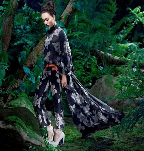 Siêu mẫu Liu Wen là triệu phú đô la - 8