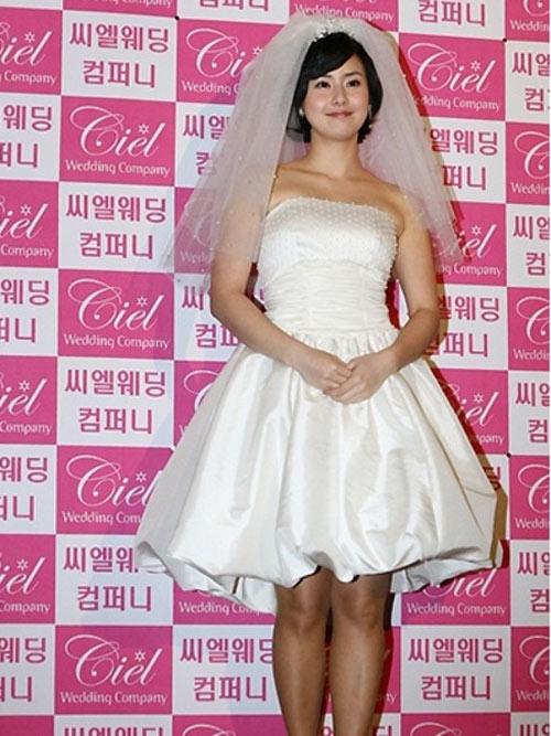 Sao Hàn mặc váy cưới xấu nhất - 7