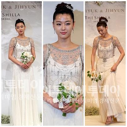 Sao Hàn mặc váy cưới xấu nhất - 9