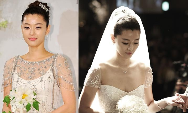 Sao Hàn mặc váy cưới xấu nhất - 5