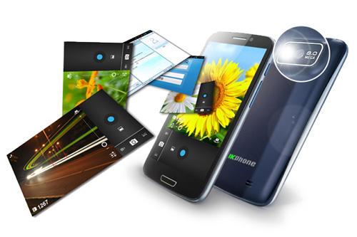 Smartphone giá rẻ màn hình lớn hút khách - 5