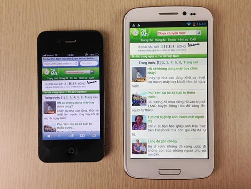 Smartphone giá rẻ màn hình lớn hút khách - 7